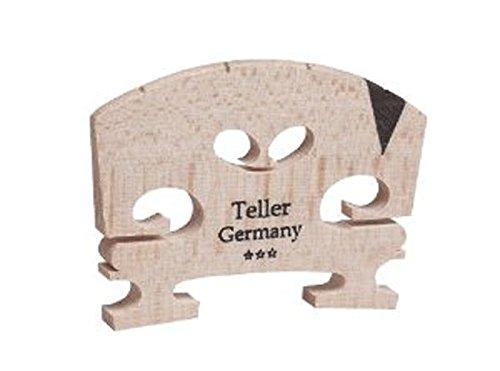Aubert Teller Germany V Insert Semi Fitted Violin Bridge 4/4, 9142-44