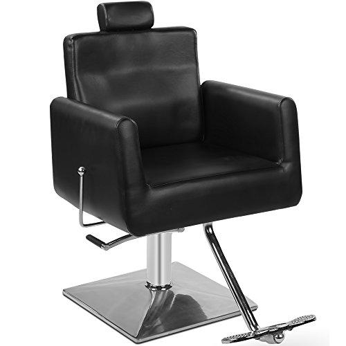 Fauteuil de coiffeur 205129 Noir