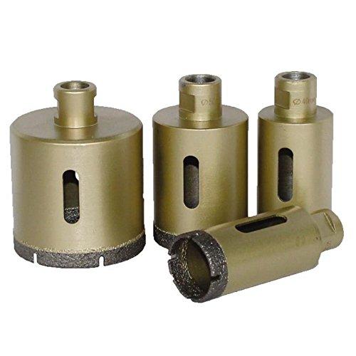 Trockenbohrkrone Economy / M14 für den Winkelschleifer / Ø 12 mm