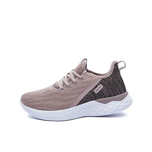 ATHIX Zapatilla Deportiva para Mujer - Allure Flexy - Calzado Transpirable, Ligero y cómodo de Malla para Correr Caminar Trabajar Actividades al Aire Libre - Suela Antideslizante