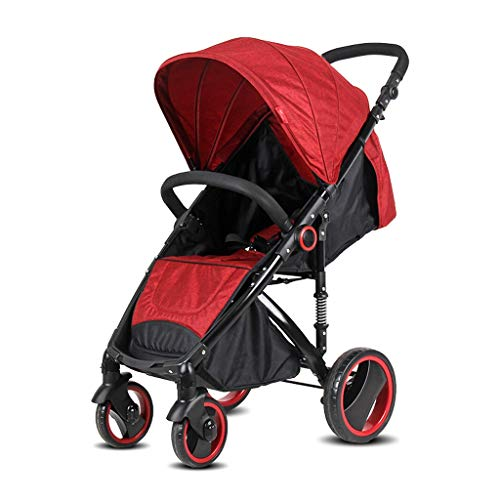 Review Of JIAX Portable Baby Stroller - Lightweight Newborn Baby Pushchair, Convertible Reclining St...