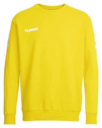 Hummel Jungen Sweatshirt Core, Sports Yellow, 140-152