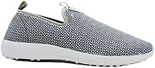 KazarMax Men's Sports, Jogging, Casual, Slip On Walking Lifestyle Zig-Zag Mesh Shoes/Sneakers (Made in India)