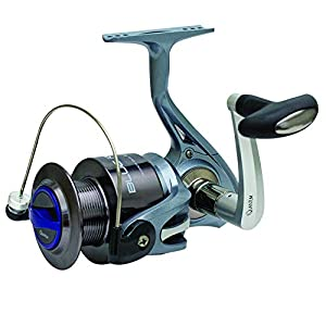 Zebco BLR60102MHA, NS3 Zebco Blue Runner Spinning Combo, Size 60, 4.7: 1 Gear Ratio, 10' 2pc Rod, 15-40 lb Line Rate, Ambidextrous