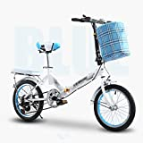 Folding Bicycle Installation-Free Shock Absorber Single-Speed 6-Speed Shift Student 20-inch Light Shock Absorber