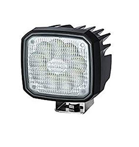 HELLA 1GA 995 506-061 Arbeitsscheinwerfer - Ultra Beam - LED - 230V - 2200lm - Anbau - stehend - Nahfeldausleuchtung - Stecker: DEUTSCH