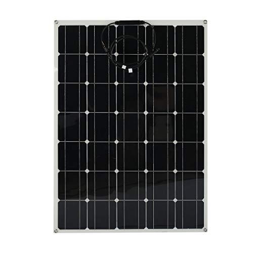Solarpanel 12V Flex 150 W Monokristallin mit Schicht Solarplatte flexibel 12 V solarplatte Monokristallines Solarpanel ideal für Wohnmobil, Gartenhäuse, Boot -12V,150W