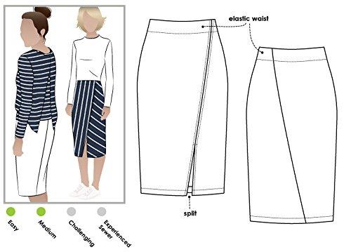 ARC Style naaipatroon - Taylor gebreide rok
