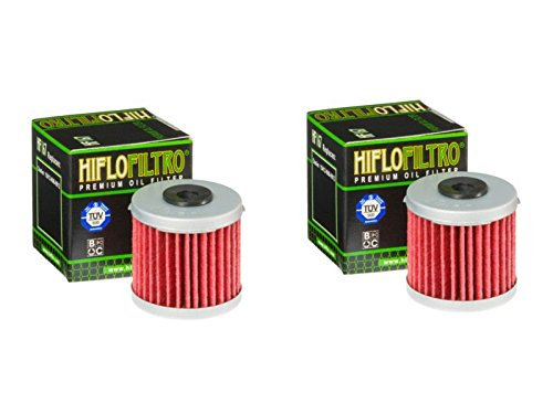 Hiflo Filtro HF167 para motocicleta/Quad Premium filtro de aceite compatible con LML (125 Star 4T 09-13), (125 Star CVT 4T 12-15), (150 Star CVT 4T 09-15))