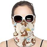 TUCBOA Unisex Headband,Sciarpe da Uomo Scaldacollo Scaldacollo Scaldacollo per Palestra Atletica,25x50cm