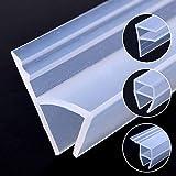 5M Gomma di Silicone Finestra di Tenuta F U H Angolo Forma Porta Meteo Striscia Paraspifferi for Doccia in Camera Acoustic Panel 6/8/10 / 12mm di Striscia di Tenuta (Length : 5M, Shape : H)