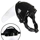 DUOCACL Hardhats-Safety Clear Grinding Face Shield Screen Mask Visor Eye Protection Solder Glasses Welding Helmet, Weld Hood Helmet