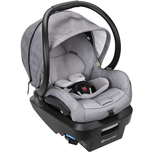Maxi-Cosi Mico Max Plus Infant Car Seat with Base, Nomad Grey, One Size (IC306ETL)