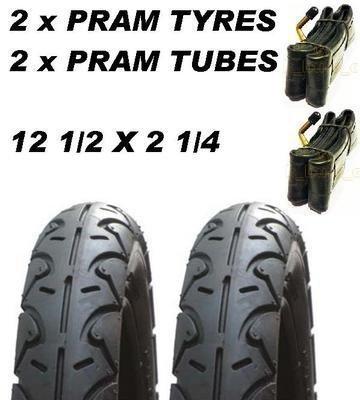 '2x Poussette roues & 2x Tube 121/2X 5.7cmmountain Buggy Terrain OSANN BEEBOP