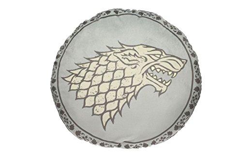 Game of Thrones - kussen - Huis Stark - Wapenlogo - 45 x 45 x 8 cm