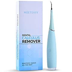 Still have stains tarter on your teeth after dentist appointment? No problem, this tool helps get all of it off Comfortable hold. It reaches all your teeth easily and the power of the vibration is perfect. Easy to Use: Just put it in place and turn o...