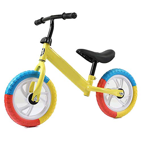 JIAOAO 1 unids Equilibrio Bicicleta Deportiva Bicicleta de Equilibrio Sin Pedal, Bicicleta De Equilibrio Para Niños Y Niños Niños No Pedales Deporte Entrenamiento Bicicleta Para Niños