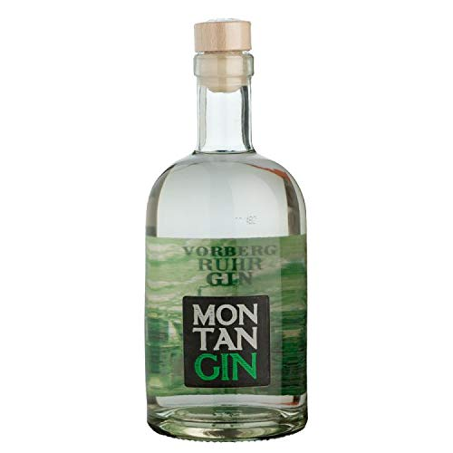 MONTAN Ruhr GIN (1 x 0,5l) 43% vol. /Small batch/handcrafted/5time distilled alcohol
