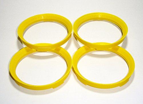 Lot de 4 adaptateurs pour jantes 73.1 - 65.1 mm Bagues de centrage
