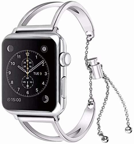 Bracelet connecté étanche avec moniteur de fréquence cardiaque, affichage des prévisions météo, des calories brûlées, moniteur de sommeil (couleur : doré) et argenté