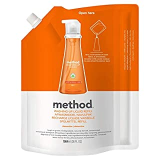 Method Clementine Washing Up Liquid Refill 1064 ml (Pack of 2) (B004O655CO) | Amazon price tracker / tracking, Amazon price history charts, Amazon price watches, Amazon price drop alerts