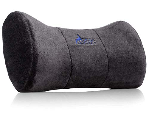 Neck Pillow Headrest Support Cushion - Clinical Grade Memory Foam for Chairs, Recliners, Driving Bucket Seats