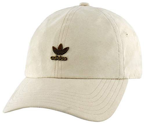 adidas Originals Men's Relaxed Metal Strapback Cap, Trace Khaki Brown/Distressed Gold, ONE SIZE