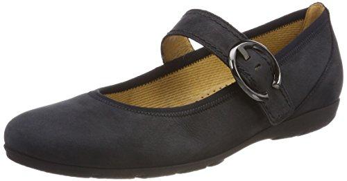 Gabor Shoes Damen Casual Geschlossene Ballerinas, Blau (Ocean), 40 EU