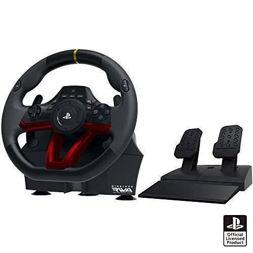 【SONYライセンス商品】 ワイヤレスレーシングホイールエイペックス for PlayStation®4/PC【PS4対応】