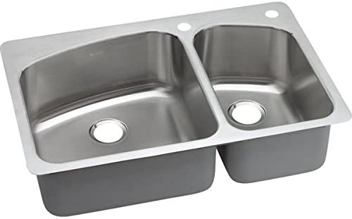 Elkay DPXSR2250R1 18 Gauge Stainless Double Dual Univ Max Recommended 42% OFF Steel Bowl