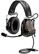 3M PELTOR COMTAC III 88062-00000 GREEN TWO-WAY RADIO HEADSET - BATTERY POWERED - 078371-88062