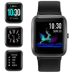 GRDE Smartwatch, Reloj Inteligente Impermeable IP68 con Monitor de Sueño