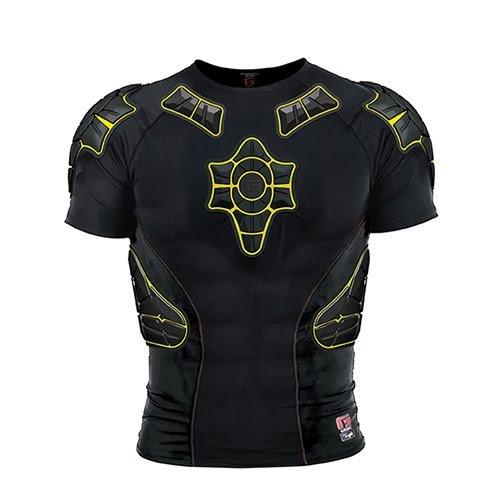 G Form Pro-X T-Shirt Mixte Adulte, Noir/Jaune, Taille S