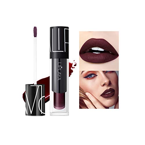 Mimore Moist Lipstick Trucco professionale Rossetto liquido per labbra, Tazza antiaderente impermeabile Colori sexy Rossetto Idratante Levigante, Lunga durata 24h Idratante Impermeabile (101)