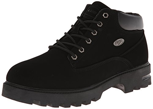Lugz Men's Empire WR Thermabuck Boot, Black Durabuck, 14 D US