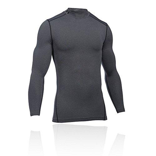Under Armour Men KompressionsMockShirt ColdGear Armour Ultra-Warm, Long-Sleeve Functional Shirt for, Grau, XL