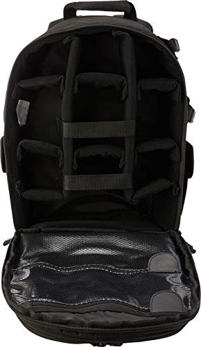 Amazon Basics Backpack for SLR Cameras and Accessories-Black