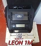 dbauto Consola Doble DIN 2 Seat Leon 1m