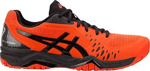 ASICS Gel-Challenger 12 Men's Tennis Shoe, Cherry Tomato/Black, 9.5 D US
