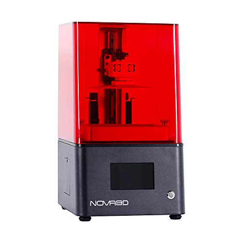 NOVA3D BENE4 3D Printer Photocuring Resin Printer 130 * 70 * 150 mm LCD/SLA 3D printer with 4.3 inch touchscreen, offline/WiFi printing