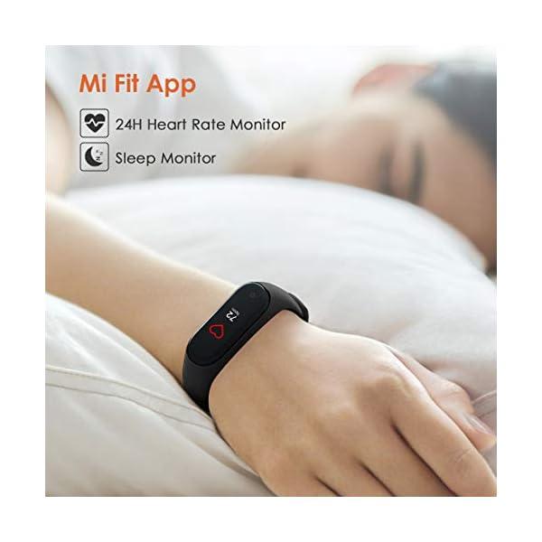 superpow Pulsera Actividad para Niños, Deportivo Smartwatch con Podómetros, Monitor de Frecuencia Cardíaca y Sueño… 6