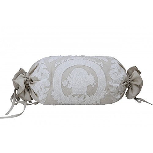 Coquecigrues - Polchon in porcellana di lino, 30 x 70 cm