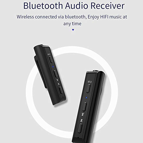 LFJNET Best Choice Bluetooth 4.2 Audio Receiver Transmitter Mini 3.5mm AUX Stereo Bluetooth Transmitter for TV PC Wireless Adapter for Car