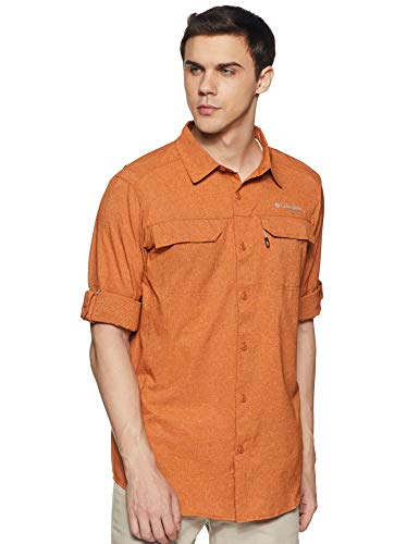 Columbia Irico Chemise Homme, Desert Sun Heat, FR : 2XL (Taille Fabricant : XXL)