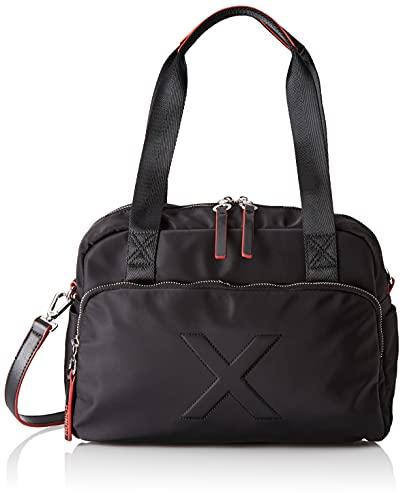 Munich NEON BOWLING BLACK/RED, BAGS para Mujer, Grande