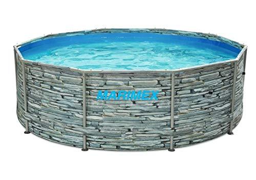 Marimex Florida-Becken 3,05 x 0,91 m ohne Filterung - Motiv Stein