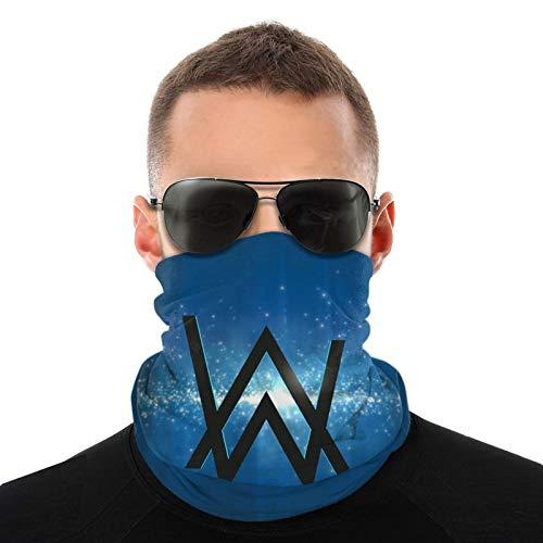 Alan-Walker - Funda protectora para cuello, antideslizante, ligera, transpirable, para sol, viento, polvo, bandana, pasamontañas