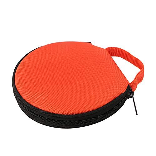 Steellwingsf solide Farbe r& Oxford Tuch Auto zu Hause 20 Scheibe CD-Aufbewahrungstasche Tasche Rei?Verschluss-Tasch-orange