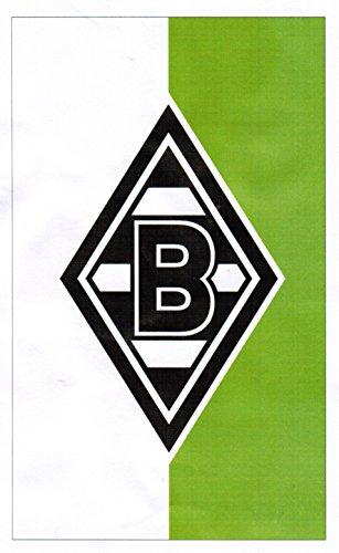 Unbekannt VFL Borussia Mönchengladbach Herren Borussia Mönchengladbach-Fohlenelf-Artikel-Hissfahne-150 x 250 cm Flagge, Mehrfarbig, 150 x 250 cm