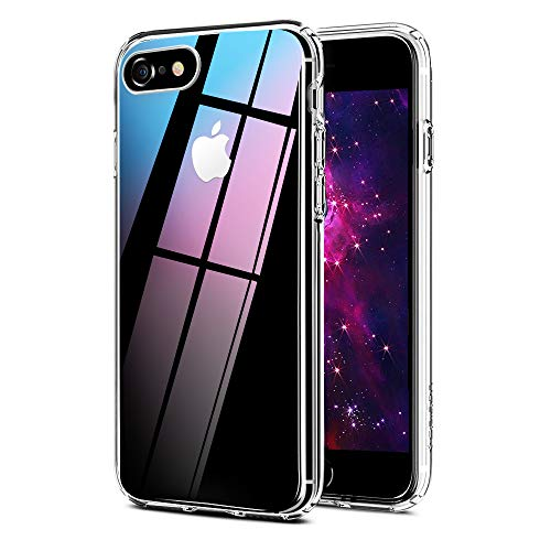 Ylife Kompatibel mit iPhone 6 iPhone 6S Hülle, Transparent Stoßfest, Anti-Gelb, Anti-Scratch Dünn Durchsichtige Schutzhülle TPU Silikon + Harter PC Handyhüllen für iPhone 6/6S Case Crystal Clear